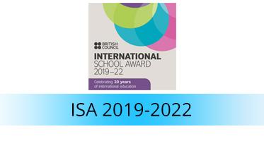 International School Award 2016 - 2019